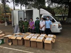 Nearly 7,000 smuggled cigarette packs seized at Binh Phuoc Border Gate