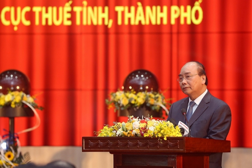 prime minister nguyen xuan phuc tax sector must prevent situation that leaders direct drastically but some tax officials have not performed