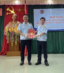 Deputy Director of Ha Tinh Customs Department appointed