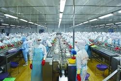 Seafood enterprises increase deep processing for export