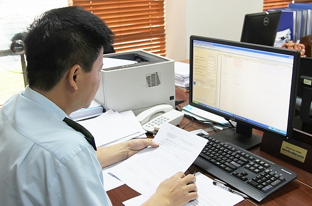 Processes in e-tax payment
