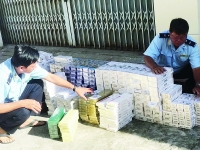 Smuggled cigarettes continues to be transported inland across southwest border