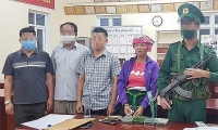 Prevent a case of transporting four heroin packages from Laos to Vietnam