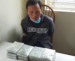 Dien Bien Customs seizes nine packages of heroin