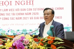 Minister of Finance discusses reviewing large revenues in Hanoi's revenues