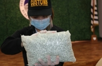 Customs seizes P9-M worth ecstacy tablets concealed in paper shredder from UK