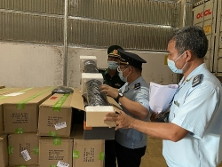 Tay Ninh Customs: Strict control and management of goods in transit