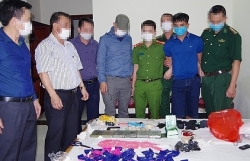 Border guard tackle drug crimes