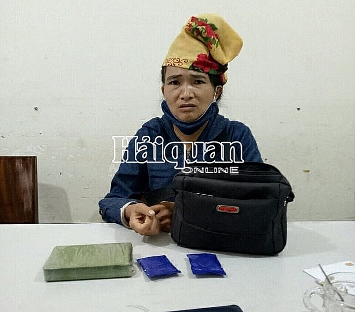 A drug trafficker is arrested on July 22