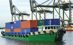 Customs supervision for border gate transfer of goods stuck at seaports