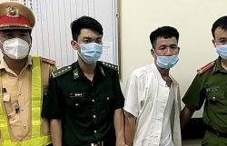 Ha Tinh arrests drug trafficker with weapons