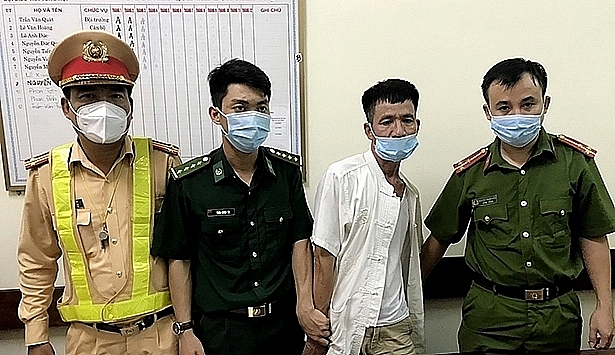 Nguyen Phuoc Tong arrested by the authorities. Photo: Ha Tinh police