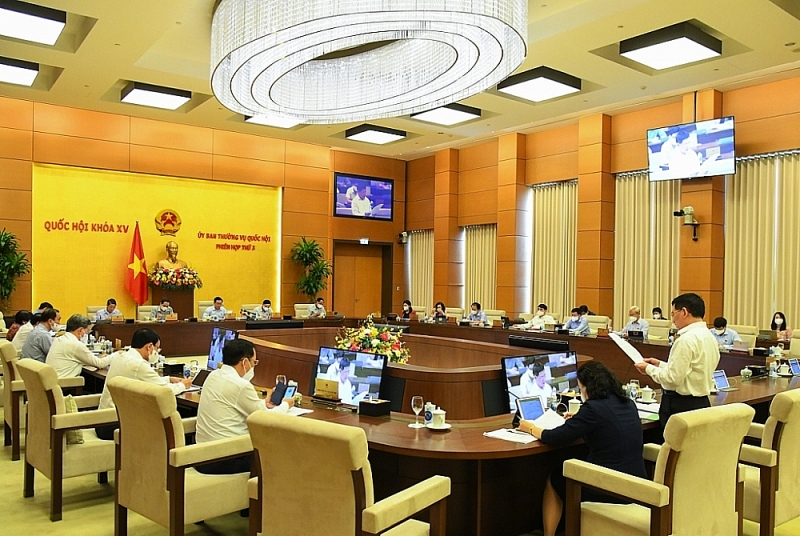 Overview of the meeting. Photo: Quochoi.vn