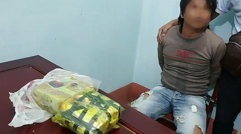 One person was arrested on charges of illegally transporting narcotics in June 2021. Photo: Collaborators