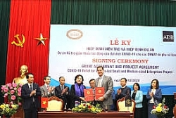 ADB signs US$5 grant agreement to support Vietnam's women-led small and medium-sized enterprises