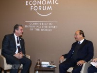 PM Phuc attends WEF opening session on Ocean Action Agenda