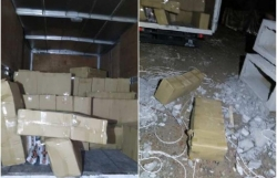 Six arrested, 8,580 cartons of duty-unpaid cigarettes seized in joint Customs-ICA operation