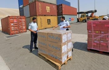 Customs Authority decision to use pallets in shipping goods goes into effect