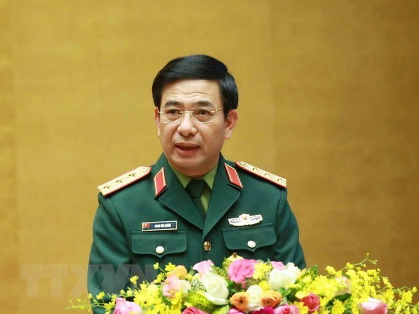 Vietnamese, Russian defence ministers hold phone talks hinh anh 1