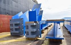 Doosan Vina exports 1,560 tonnes of structural equipment to Indonesia