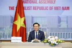 Top Vietnamese and Chinese legislators hold phone talks