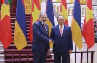 Vietnam, Armenia hold high-level talks