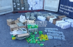 Video: 70,000 smuggled Chinese locks and drill bits seized