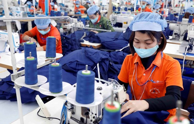 Vietnam earns nearly 19 billion from textile exports in H1 hinh anh 1
