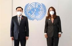 "Top legislator hails UN""s contributions to Vietnam's development"
