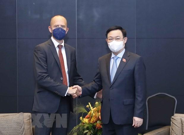 Top legislator receives Siemens Energy AG leader hinh anh 1