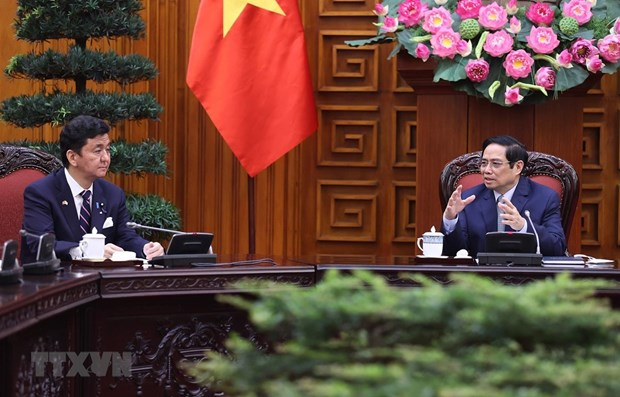 Vietnam takes Japan as partner of top importance: PM hinh anh 1