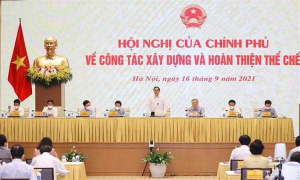 PM requests efforts to prevent corruption, vested interest in institution building hinh anh 1