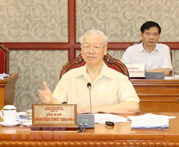 Politburo gives opinions on socio-economic performance hinh anh 1