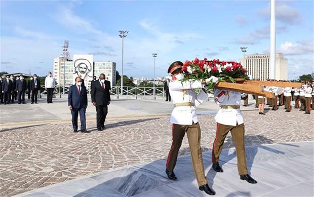 President Nguyen Xuan Phuc welcomed in Cuba hinh anh 5