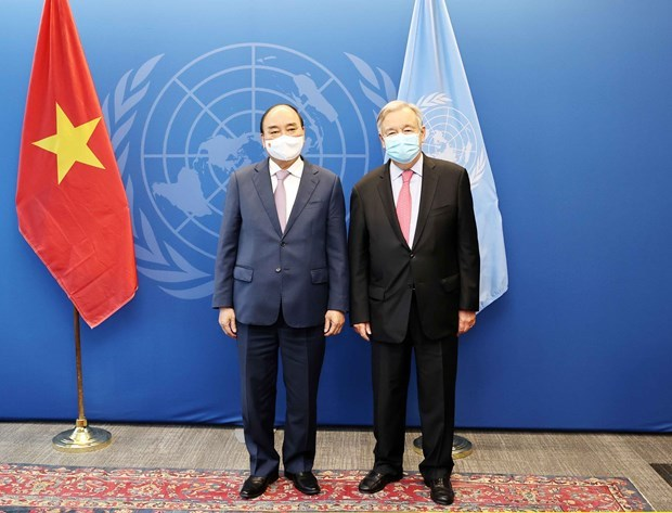 Vietnam always backs UN's central role: President hinh anh 1