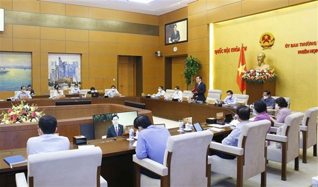 NA Standing Committee discuss public opinions hinh anh 1