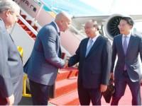 PM Phuc arrives in Papua New Guinea for APEC 26