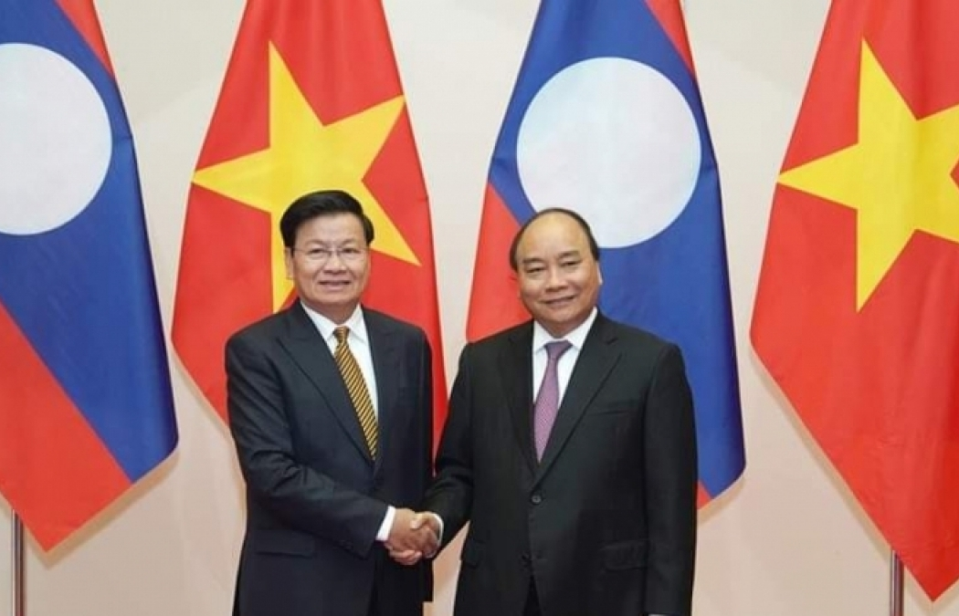 Lao PM visits Vietnam, co-chairs Inter-governmental Committee's 43rd session