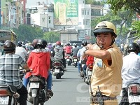 Management and expenditure for ensuring traffic safety and order