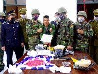 Ha Tinh Customs coordinate to seize large amount of drugs