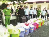 Warning foreigners hidden behind enterprises for transporting drugs