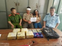 Nghe An Customs coordinates to seize large amount of narcotics