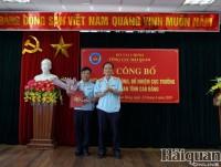 Director of Lang Son Customs Department takes duty at Cao Bang Customs