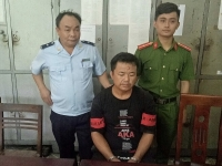 Nghe An Customs arrests a person transporting narcotics through management area