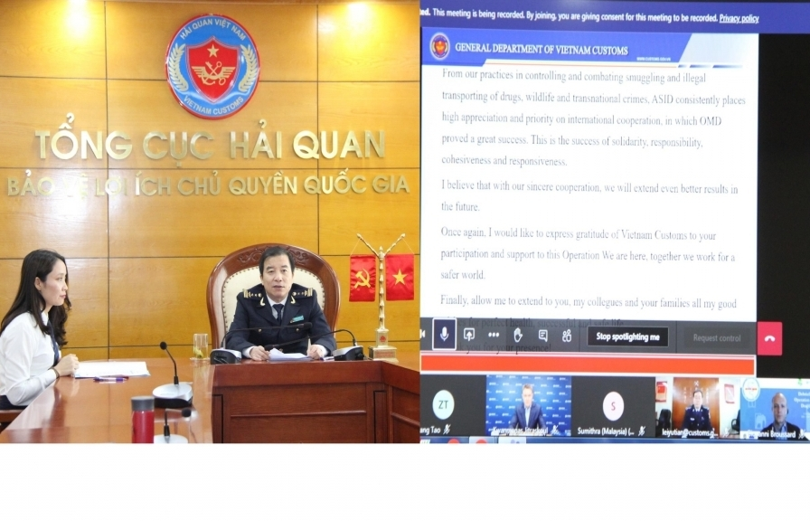 More than 100 pieces of information about anti-smuggling processed through international cooperation