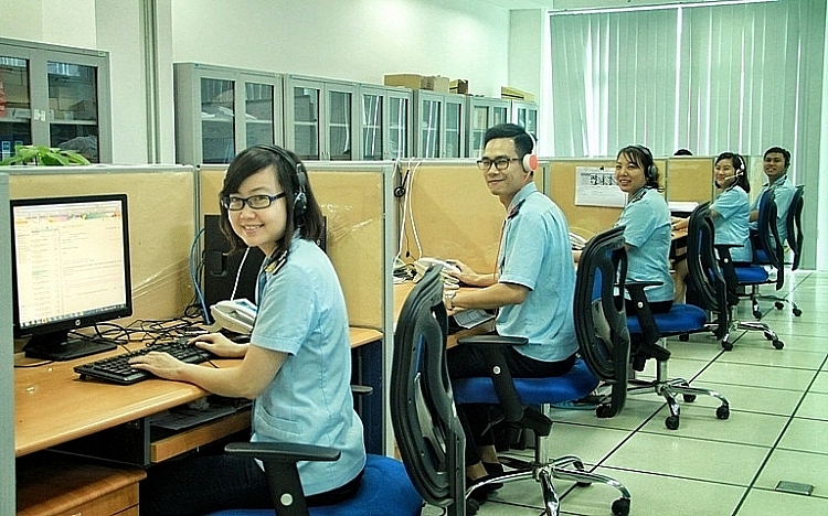 Operation at Customs IT Management and Operation Centre before the outbreak of Covid-19 pandemic