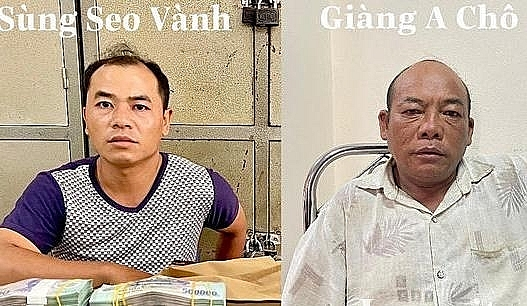 Giang A Cho and Sung Seo Vanh. Photo provided by Lao Cai Police
