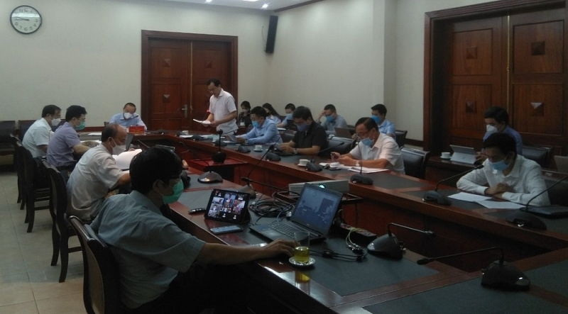 Overview of the conference of the Ministry of Agriculture and Rural Development. Photo: Duc Thinh