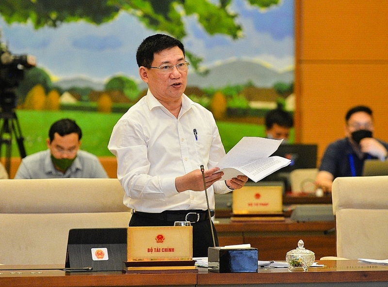 Minister of Finance Ho Duc Phoc. Source: quochoi.vn