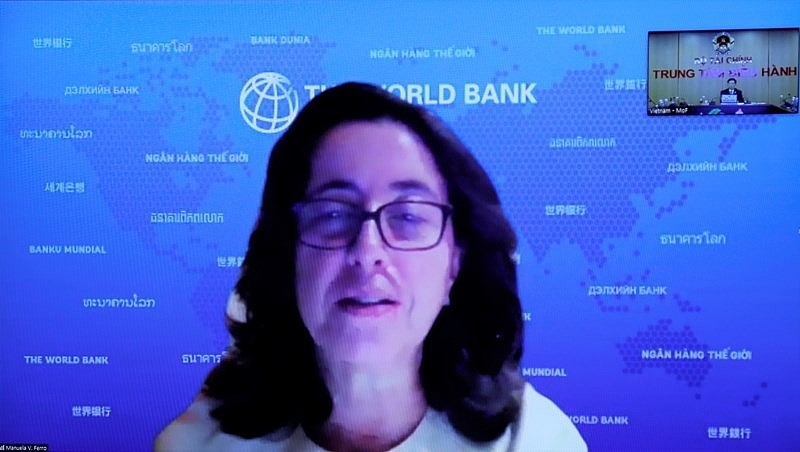 Mrs. Manuela Ferro, World Bank Regional Vice President for East Asia and Pacific